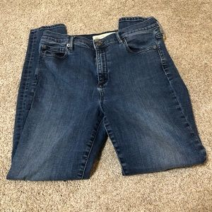 GAP 1969 TRUE SKINNY HIGH RISE 30R JEANS